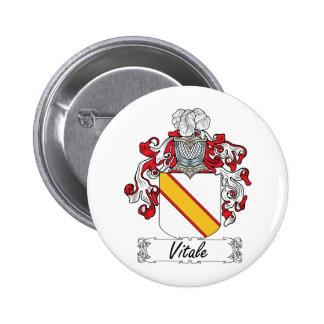 Escudo de la familia de Vitale Pins