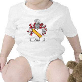 Escudo de la familia de Vitale Trajes De Bebé