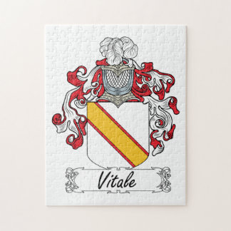 Escudo de la familia de Vitale Puzzles Con Fotos