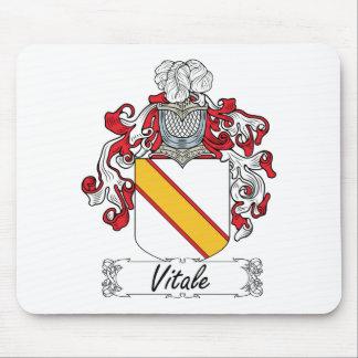 Escudo de la familia de Vitale Alfombrillas De Ratón
