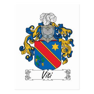 Escudo de la familia de Viti Postal