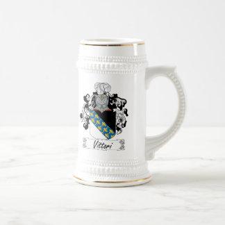 Escudo de la familia de Vittori Jarra De Cerveza