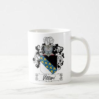 Escudo de la familia de Vittori Taza Clásica