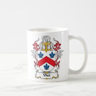Escudo de la familia de Vliet Taza Clásica