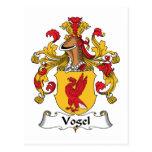 Escudo de la familia de Vogel Postal