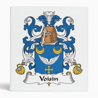 Escudo de la familia de Voisin