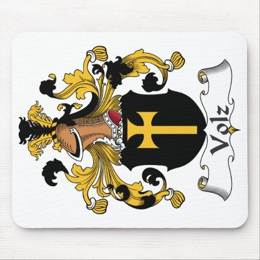 Escudo de la familia de Volz Tapetes De Raton
