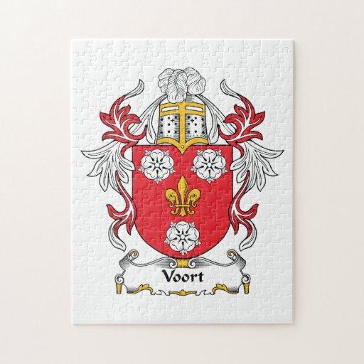 Escudo de la familia de Voort Puzzle