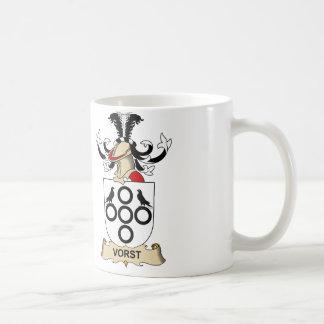 Escudo de la familia de Vorst Taza De Café
