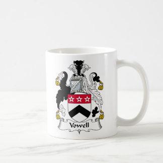 Escudo de la familia de Vowell Taza Clásica