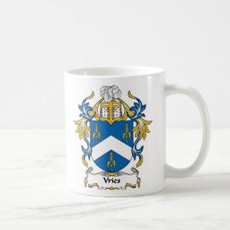 Escudo de la familia de Vries Taza