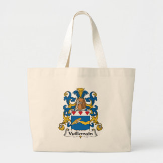Escudo de la familia de Vuillemain Bolsas De Mano