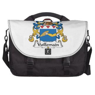 Escudo de la familia de Vuillemain Bolsa De Ordenador