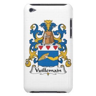 Escudo de la familia de Vuillemain iPod Touch Case-Mate Protectores