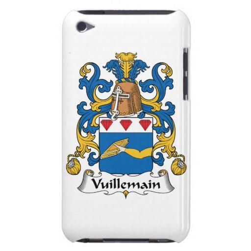 Escudo de la familia de Vuillemain iPod Case-Mate Fundas