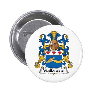 Escudo de la familia de Vuillemain Pin