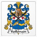 Escudo de la familia de Vuillemain Reloj
