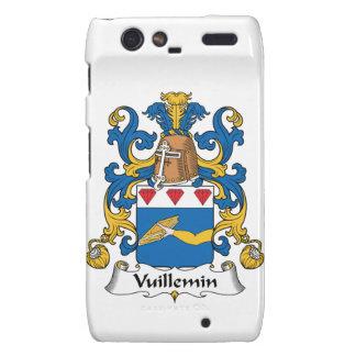 Escudo de la familia de Vuillemin Droid RAZR Fundas
