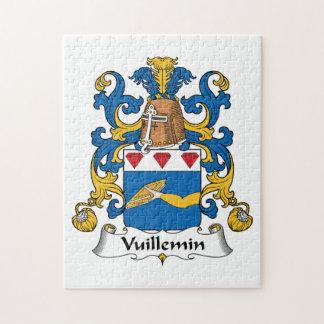 Escudo de la familia de Vuillemin Puzzles Con Fotos