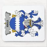Escudo de la familia de Vyan Alfombrilla De Ratones