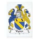 Escudo de la familia de Vyner Anuncio