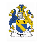Escudo de la familia de Vyner Postal