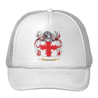 Escudo de la familia de Wach (escudo de armas) Gorro De Camionero