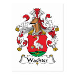 Escudo de la familia de Wachter Postal