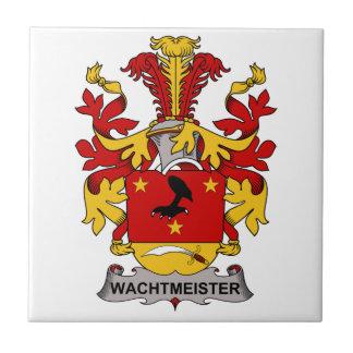 Escudo de la familia de Wachtmeister Teja Cerámica