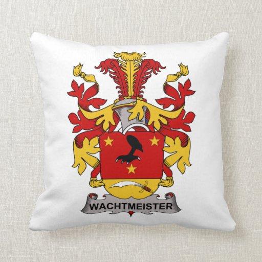 Escudo de la familia de Wachtmeister Cojin