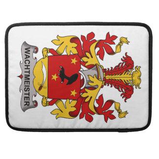 Escudo de la familia de Wachtmeister Fundas Macbook Pro