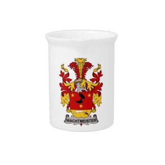 Escudo de la familia de Wachtmeister Jarras Para Bebida
