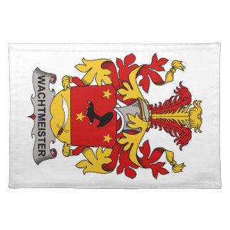 Escudo de la familia de Wachtmeister Manteles