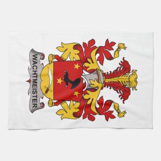 Escudo de la familia de Wachtmeister Toallas