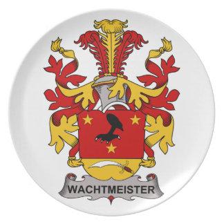 Escudo de la familia de Wachtmeister Plato De Cena