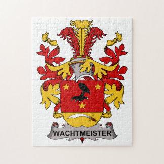 Escudo de la familia de Wachtmeister Puzzles