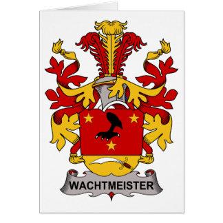 Escudo de la familia de Wachtmeister Felicitacion