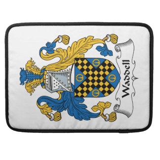 Escudo de la familia de Waddell Funda Para Macbook Pro