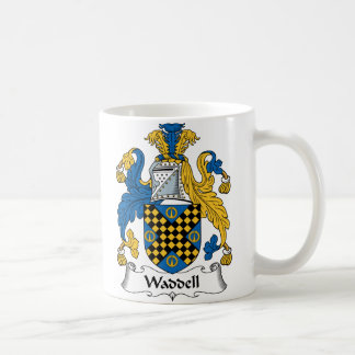 Escudo de la familia de Waddell Taza De Café