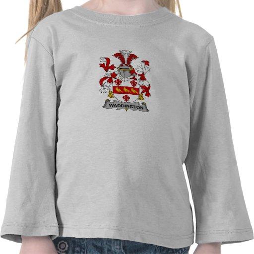Escudo de la familia de Waddington Camisetas