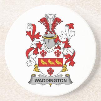 Escudo de la familia de Waddington Posavasos Diseño
