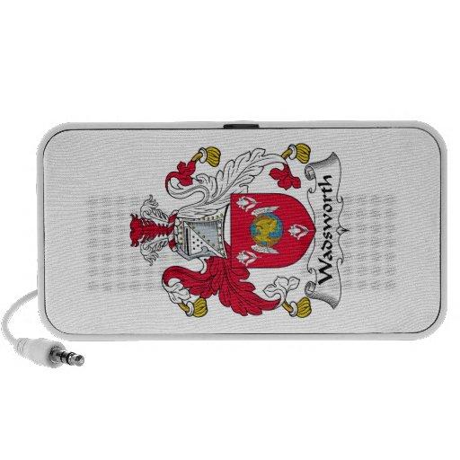 Escudo de la familia de Wadsworth iPod Altavoz