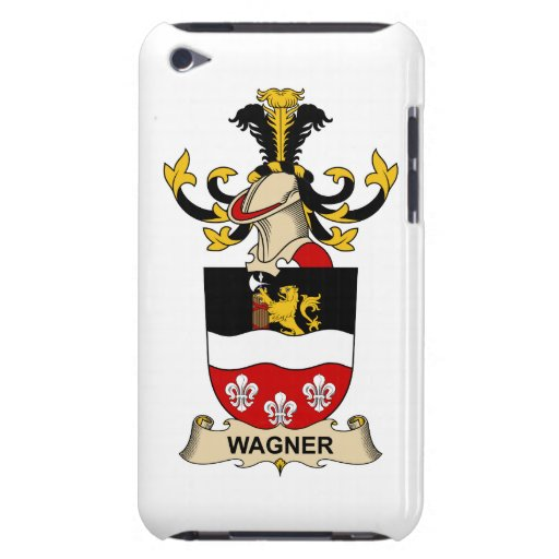 Escudo de la familia de Wagner iPod Case-Mate Cobertura