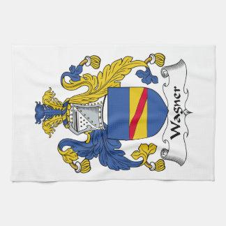 Escudo de la familia de Wagner Toallas De Mano