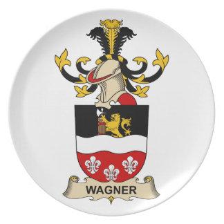 Escudo de la familia de Wagner Platos