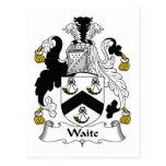 Escudo de la familia de Waite Postal