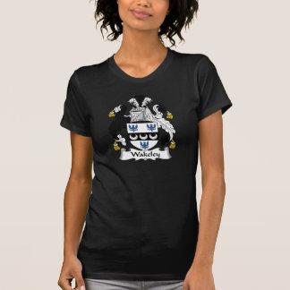 Escudo de la familia de Wakeley Camiseta