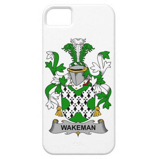 Escudo de la familia de Wakeman iPhone 5 Case-Mate Cárcasas