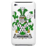 Escudo de la familia de Wakeman iPod Touch Protector
