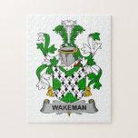 Escudo de la familia de Wakeman Rompecabeza